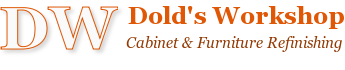 Dold's Workshop - Cabinet Refinishing